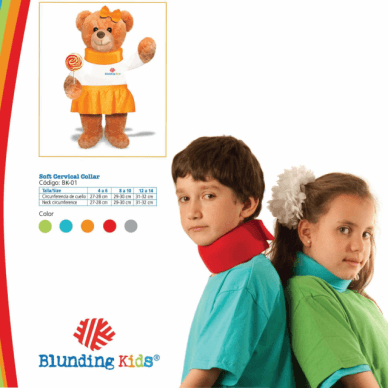 COLLARIN CERVICAL BK-01 BLUNDING KIDS